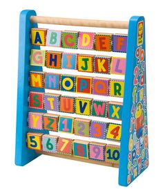 Loving this ABC & 123 First Words Game on #zulily! #zulilyfinds
