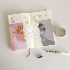 hi everyone i'm finally back with a new post ! two namjoon spreads in a row who aM i (swipe for closeups) a few life updates no one… Bullet Journal Lettering Ideas, Bullet Journal Notes, Bullet Journal Aesthetic, Bullet Journal Writing, Bullet Journal Ideas Pages, Bullet Journal Inspiration, Art Journal Pages, Scrapbook Journal, Kpop
