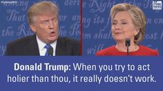 Who do you think won last night's debate: Donald J. Trump or Hillary Clinton?