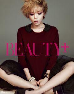 Brown Eyed Girls Ga In - Beauty+ Magazine November Issue '12