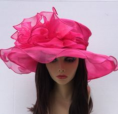 Pink Kentucky Derby Hat 965b74f6332