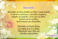 Najmama.sk Poems, Homeschool, Education, Art, Poetry, A Poem, Teaching, Training, Homeschooling