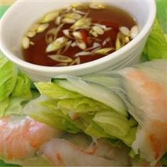 Rezeptbild: Nuoc Cham (Vietnamesische Dipsoße) zu sommerrollen