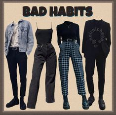 Teen Fashion Outfits, Edgy Outfits, Mode Outfits, Cute Casual Outfits, Retro Outfits, Grunge Outfits, Vintage Outfits, Girl Outfits, Vintage Fashion