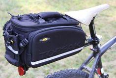Gepäckträgersystem und Tasche von Topeak