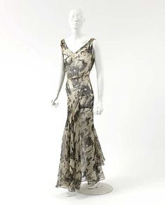House of Chanel | Evening dress c. 1928| FrenchbyHouse of Chanel (French, founded 1913)