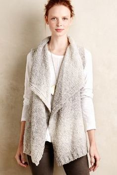 Anthropologie Fireside Vest