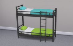 Hipster Loft Bunk Bed & Mattresses for Bunk Beds Here is add-on for Hipster Loft set, bunk bed. There are 2 mattresses, one for bottom part and one for upper part, so you can combine colors as you...