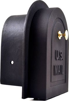 Update your brick stone or stucco mailbox enclosure with this 6 inch decorative cast aluminum brick mailbox door from Better Box Mailboxes. Stone Mailbox, Old Mailbox, Rural Mailbox, Mailbox Post, Mailbox Ideas, Mailbox Designs, Mailbox Accessories, Mailbox Landscaping, Landscaping Tips