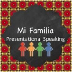 Thorough project to get students talking about their families in Spanish - practice activities included Family In Spanish, Teach Me Spanish, Spanish Practice, Spanish Teacher, Spanish Classroom, Learning Spanish, Classroom Ideas, Spanish Lesson Plans, Spanish Lessons