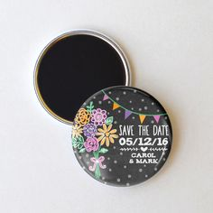 Summer Save the Date Magnet