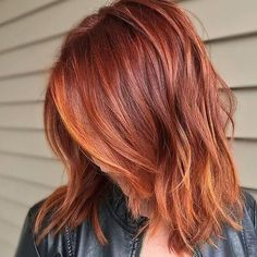 A mix of reds. www.enrapturesalon.com