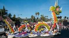 Image result for rose parade floats 2018