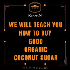 Organic Coconut Sugar lovers, in the next few weeks we will teach you how to buy good organic coconut sugars in a few series. 💪🏼 We will reveal some of the industry hidden secrets. 👊🏼 This is part of our customer education. Please make sure to follow our social media and get the whole series. And pelase do share to your friends and love ones.  For more information you can visit our LINK IN BIO🙌🏼 #coconut #coconutsugar #organic #healthy #keratonorganic #blogger #sugar #lifestyle…