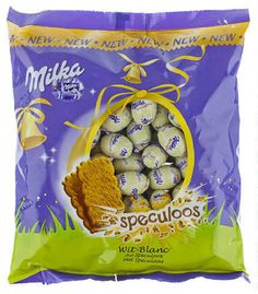MILKA Easter Egg white Chocolate and speculoos Milka Chocolate, Chocolate Brands, Chocolate Lovers, White Chocolate, Unicorn Foods, Baby Alive Dolls, Gingerbread Cake, Chicken Meal Prep, In Season Produce