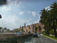 Macchina, La Turbie→Menton, France (Marzo)