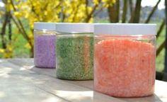 Faça você mesmo: sal de banho sem química nociva