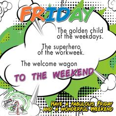 Friday. The golden child of the weekdays. The superhero of the workweek. The welcome wagon to the weekend.  Have a fabulous Friday and a wonderful Weekend! Stay safe, look after yourselves see you all on Monday! www.tekkietax.org  #tekkietax #makethecirclebigger #takehands #lovingtekkies #jamblikprojek
