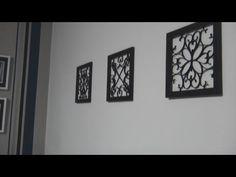 Faça você mesmo: quadros com rolos de papel higiênico | Quadros Decorativos