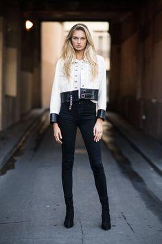Romee Strijd Fashion Off-White Show September 2018 - Star Style Star Fashion, Fashion Models, Fashion Outfits, Design Thinking, Stuart Weitzman, Best Street Style, Elsa Hosk, Models Off Duty, Design Studio