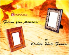 #Memories are the #special #moments that tell our #story. Capture your story #stylishly in #artistic #wooden #photoframes Shop here:  https://goo.gl/FbljmH.