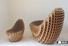 Самая дешёвая и экологически чистая мебель из картона, Мебель для дома | Энциклопедия ремонта |