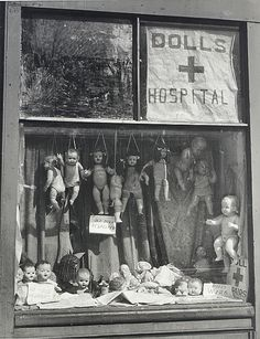 Max Dupain: The Dolls Hospital.