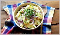 www.slodko-slony.blogspot.com - sałatka ziemniaczana / potato salad