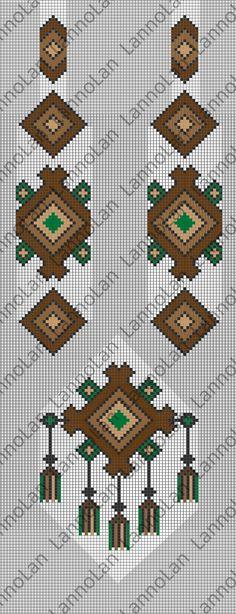 Ukrainian necklace - loom pattern - inspiration by: http://media-cache-ec0.pinimg.com/600x/09/b3/c7/09b3c7fb57596bee0b1d805536838e0a.jpg
