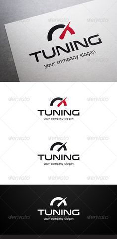 Tuning Logo #GraphicRiver Description Tuning Logo is a multipurpose logo. This logo can be used by tuning companies, etc. What's included? 100% vector AI and EPS files CMYK Fully editable – all colors and text can be modified Layered 3 color variations Font Fonts used: Venera Maven Pro Don't forget to rate if you like! Created: 27 November 13 Graphics Files Included: Vector EPS #AI Illustrator