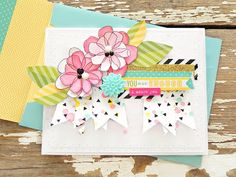 My Bits of Sunshine: You Are Enough Card and A Bella Blvd Purrfect Layout