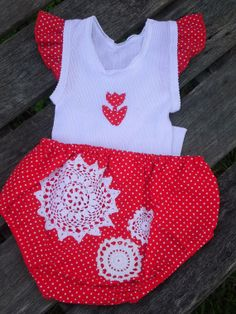 Size 0  Girls Nappy Cover and Singlet set by SewHappyMum
