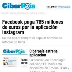 La sección Ciberpais de El País estrena aplicación. Así luce la de iPhone