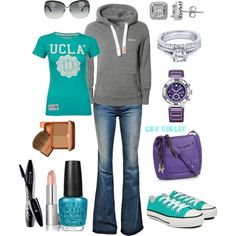 swap the ucla shirt for the dawgs  & were good to go! love this low key day look!