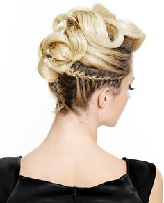 Rock Star Hairstyles. Omg how can I do this