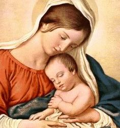 a year of prayer: 365 Rosaries: Marian Mondays: Maternity of Mary, Oneness of Christ