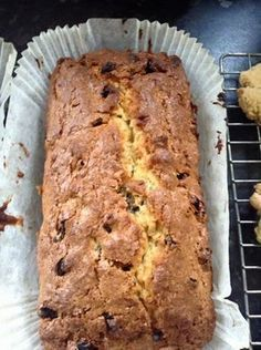 Recipe photo: Easy fruit loaf cake halve the sugar and add apple sauce Fruit Cake Loaf, Fruit Loaf Recipe, Fruit Bread, Loaf Recipes, Bread Cake, Loaf Cake, Easy Cake Recipes, Sweet Recipes, Baking Recipes