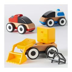 LILLABO Toy vehicle, assorted colors assorted colors -