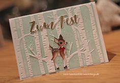 Weihnachtskarte Stampin UpTannenzauber
