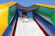 Bouncy House Slide - Park City Mountain Resort - evo'11 (formerlyphread.com) #evoconf