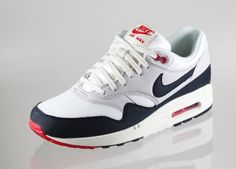 Nike Air Max 1 OG (SAIL / DARK OBSIDIAN)  Match with classic Angels jersey