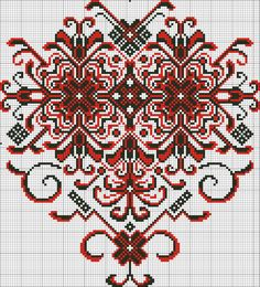 Gallery.ru / Фото #96 - ВЫшиванки, рушники - Sharadarada Cross Stitch Heart, Cross Stitch Borders, Cross Stitch Designs, Cross Stitching, Cross Stitch Patterns, Folk Embroidery, Embroidery Patterns Free, Loom Patterns, Cross Stitch Embroidery