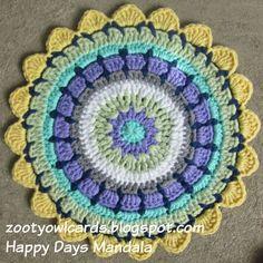 Happy Days Mandala