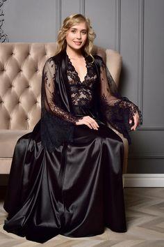 Wedding Night Lingerie, Wedding Lingerie, Satin Lingerie, Women Lingerie, Satin Gown, Satin Dresses, Satin Nightie, Silk Satin, Lace Bridal Robe