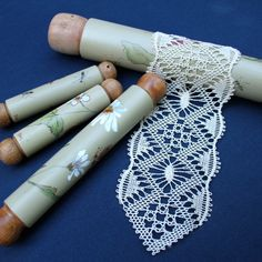 When I started making lace, one of the great mysteries for me was how to match thread size to a pricking. Lace patterns typically provide recommendations about the thread type and thread size.Finding lacemaking resources and knowledge is as easy as clicki Romanian Lace, Bobbin Lacemaking, Bobbin Lace Patterns, Loom Patterns, How To Make Bookmarks, Lace Jewelry, Lace Earrings, Lace Heart, Pattern Pictures