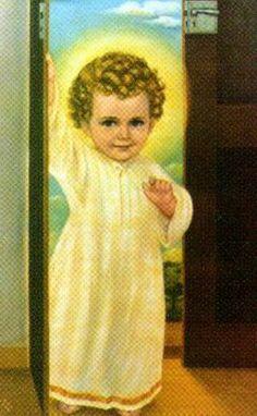 Menino Jesus quer entrar...
