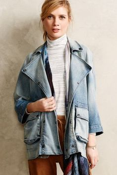 Current/Elliott Infantry Jacket #Anthropologie