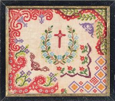 A 19th Century French Sampler From The Collection Of The Late Regine Deforges