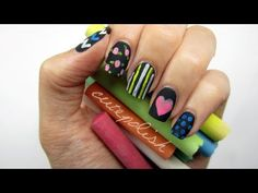 Back to School: Chalkboard Nails?! - http://www.nailtech6.com/back-to-school-chalkboard-nails/