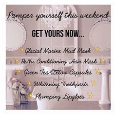R E L A X Message me to learn more about any of these amazing products and bag yourself a pamper bag